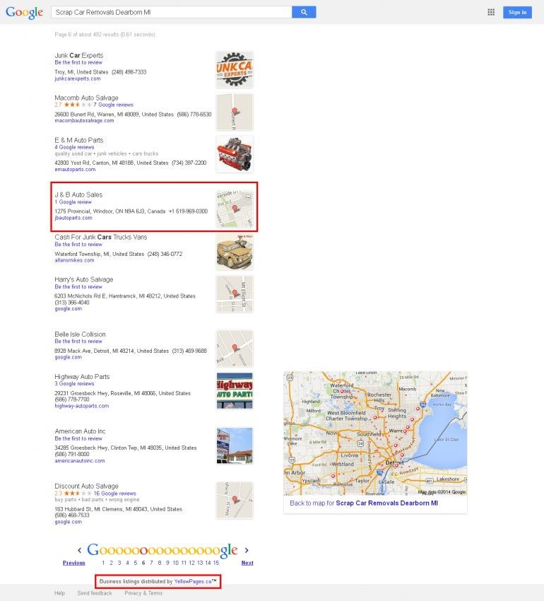 Scrap Car Removals Dearborn MI - Google Search 2014-02-24.jpg